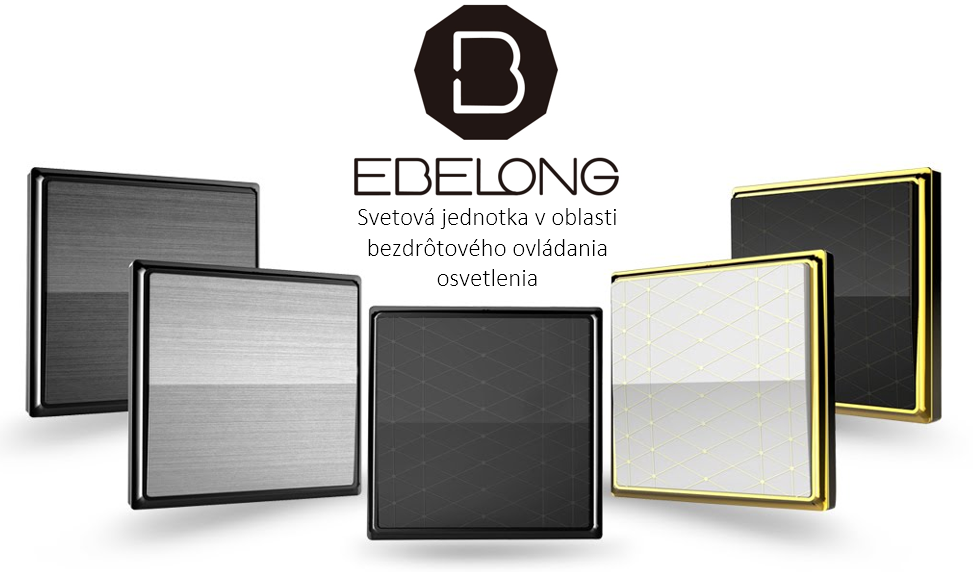 Ebelong - bezdrôtové ovládanie osvetlenia