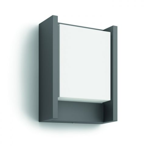 Arbour wall lantern anthracite 1x6W 230V