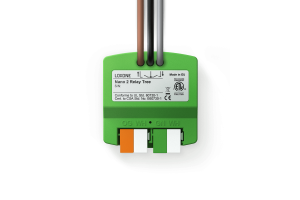 Loxone Nano 2 Relay Tree