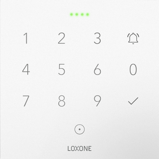 Loxone NFC Code Touch White Tree