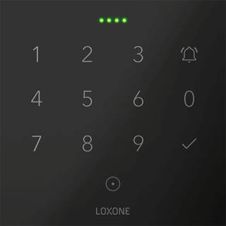 Loxone NFC Code Touch Gray Tree