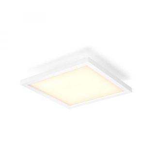Aurelle Ceiling Lamp White 28W 230V Square