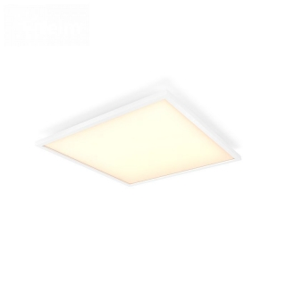 Aurelle Sq Ceiling Lamp White 55W 230V Square