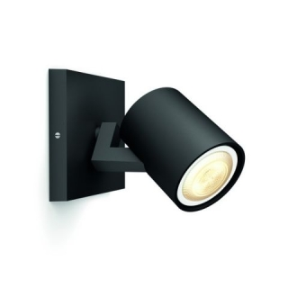 Runner Hue Single Spot Black 5.5W