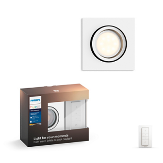 Milliskin Recessed White 5.5W Square