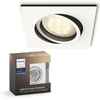 Milliskin Recessed White 5.5W Square Ext