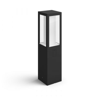 Impress Hue EU Pedestal Black 2x8W Base Unit