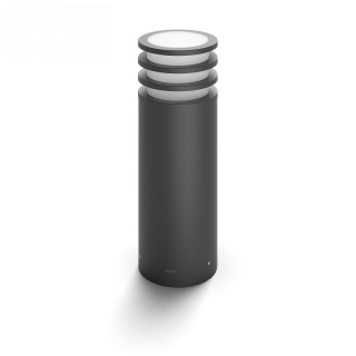 Lucca Hue Pedestal Anthracite 9W