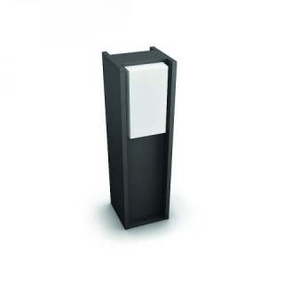 Turaco Hue Pedestal Anthracite 9W