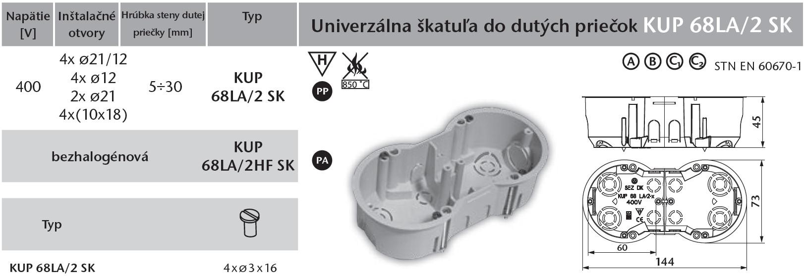 LIVOLO KUP-68-LA-2