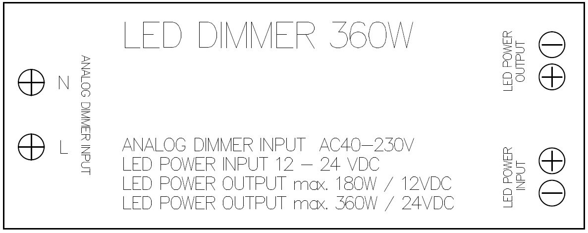 LIVOLO LED DIMMER 360W
